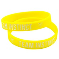 Team Instinct Pokemon Go Silikon armband