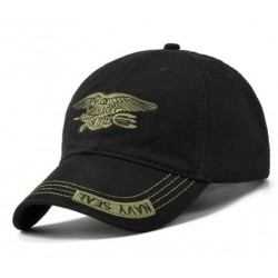 Baseball Keps Navy Seal svart